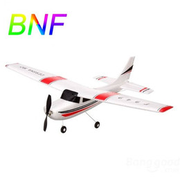 Wholesale Toy Rc Cessna - Wholesale-WLtoys F949 2.4G 3CH Cessna 182 Micro RC Airplane BNF Without Transmitter Remote Control Toys For Children