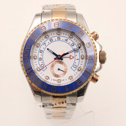 Wholesale Watch Movement Factory - Factory Seller New Luxury AAA 40mm 18K Rose Gold Stainless Steel 116681 Mens Automatic Mechanical Movement sapphire Watch Mens WristWatches