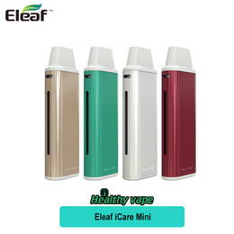 Wholesale Head Coils - Original Eleaf iCare Mini Kit 320mAh without PCC 1.3ml Capacity Tank with New Coil IC 1.1ohm Heads