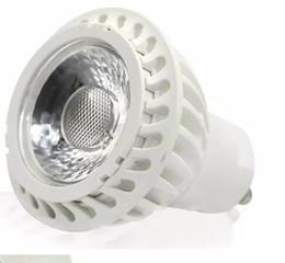 Spot led 7w mr16 dimmable en Ligne-Haute Puissance Cob Led Lampe 7 W Dimmable GU10 MR16 Led Spot Spotlight led ampoule downlight éclairage chaud froid blanc AC90-260v LLFA