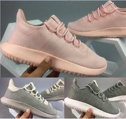 Wholesale Trainers Best Quality - Newest popular pink Tubular Shadow Nova red Men Women's Racer Running shoes Breathable Mesh Trainers best quality 2018 EUR 36-44