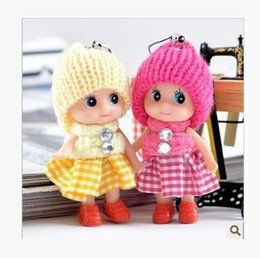 Wholesale Wholesale Polyester Resin - Backpack widgets and lovely small ornament ocean girl dolls fine jewelry fashion Plush doll gifts