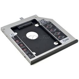 lenovo caso alumínio Desconto Atacado-Original de alumínio segundo HDD Caddy 9.5mm 2.5