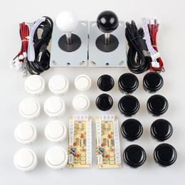 Wholesale Push Button Circuit - DIY Zero Delay Arcade Game 2 sanwa Joystick with circuit board 20 Push Button 2 USB Encoder Kit