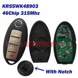 Wholesale Maxima Remote Key - N0010A KR55WK48903 Smart car key card remote key 4button 315Mhz ID46 chip for Nissan Altima Armada Maxima Versa Sedan Keyless entry