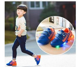 Wholesale Sweet Cotton Candy - Hot Children's Shoes shine baby Sale fashion style children boys girls shoes casual boy sweet candy color children shoes
