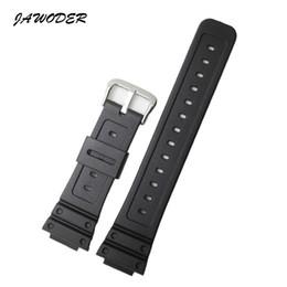 2019 dw assistir faixas Jawerver pulseira 26mm pulseira de faixa de relógio de borracha de silicone preto para DW-5600e DW-5700 G-5600 g-5700 correia de relógio esportivo GM-5610 dw assistir faixas barato