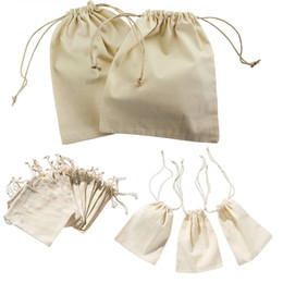 Wholesale Mini Sachets - Mini Drawstring Gift Bag Incense Storage Cosmetic Jewel Accessories Sachet Packing Linen Bags 10*15cm WN0239