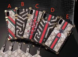 Wholesale Phone Edition - Phone case for iPhone X 7 7plus 6 6Splus Phone Case Deluxe Edition Snake Tiger TPU soft cover for iPhone8 8plus Luxury brand