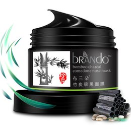 Wholesale Charcoal Remove Blackhead - Bamboo charcoal blackhead mask peel-off Nose paste Shrink pores Deep cleaning Remove acne Mud mask