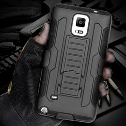 Wholesale S3 Military Case - Future Military Armor Kickstand Cover Case For Samsung Galaxy S7 S6 Edge Plus S5 Note 7 5 4 3 S4 S3 For iPhone 7 6 6S Plus 5SE