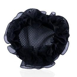 Wholesale Pocket Network - Dance professional children's head flower pocket hair ballet test grade hair network elastic net plate hair tools wholesale