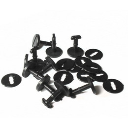 Wholesale 20pcs E36 E46 E38 E39 Car Styling Black Floor Carpet Mat Clips Rivets Retainer Clips Trim for BMW