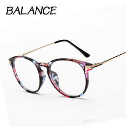 Wholesale Optical Glasses Womens - Wholesale- Reading glasses Retro Unisex Metal points womens eye glasses frame Brand optical UV Protection vintage female eyeglasses