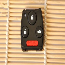 Wholesale Honda Accord Remote Control - 2015 NEW !Blank Remote Control Board Shell 3+1 4 Botton For Honda CRV OLD FIT Accord Odyssey