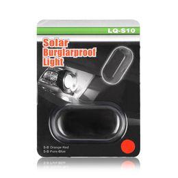 Wholesale Solar Led Flashing Warning Lights - Wireless Car Alarm LED Light Security Warning System Lamp Theft Flash Blinking Light Simulate Solar Built-in light Sensor