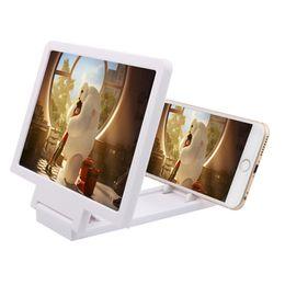 puxing гарнитуры Скидка Универсальный мобильный телефон экран лупа усилитель 3D видео дисплей HD усилитель складной расширенного расширителя глаза защиты держатель розничной коробке