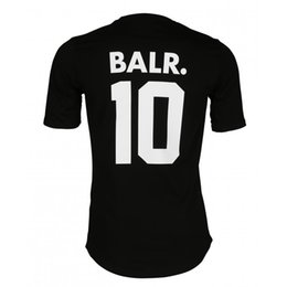 Wholesale C S High quality NEW fashion Euro size Mesh Cover balr t shirt men women NL luxury brand clothing round bottom long back t shirt