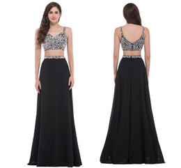 Wholesale Grace Karin Sequins Evening Dress - Grace Karin 2017 New Arrive Sexy Two-Piece Set Sequins Prom Evening Dresses Luxury homecoming dress HY00785