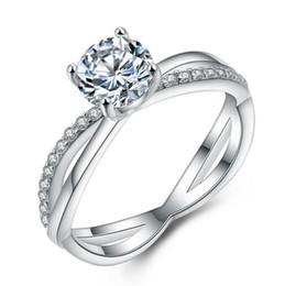 ct princesa corte anel de diamante Desconto 2018 novo 1.5 ct princesa corte branco canário diamante criado sólido 925 prata esterlina 2-pcs conjunto anel de casamento
