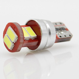 Wholesale Map Park - T10 194 168 W5W 6SMD 5630 Car LED Light Bulb XENON WHITE for Car Tail Light Side Parking Dome Door Map Light Lamp
