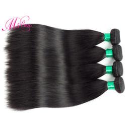 Wholesale Wholesale Virgin Hair Companies - Brazilian Virgin Hair Straight 4 Bundles 100% Unprocessed Cheap Factory Wholesale Price Grace Hair Company Bundle Deals