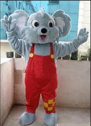 Wholesale Adult Koala Bear Costume - Professional Koala Bear Mascot Costume Fancy Dress Adult Size New Arrival free shipping