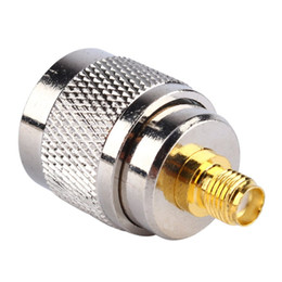 Wholesale Rf Shielding - Silver Color N Type Sma to Uhf Adapter Male Plug to RP SMA Female Jack RF Coaxial UHF Adapter Connector