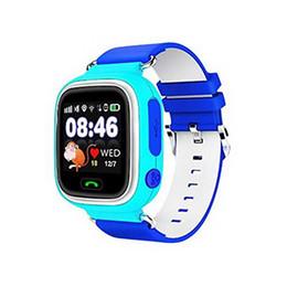 Android relojes inteligentes wifi online-GPS smart watch baby watch Q90 con pantalla táctil Wi-Fi SOS Ubicación de ubicación DeviceTracker para niños Anti-Lost Monitor