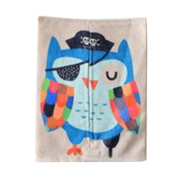 Wholesale Tissue Paper Plastic Cover - Wholesale- 1PC Lovely Cute Cloth Animal Tissue Box Cotton Linen Holder Paper Container Dispenser Cover Car Home Decoration