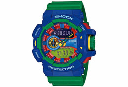 Wholesale G Shock Watch Wholesale - relojes hombre 2017 Men Military Sport Wristwatch Waterproof High Quality Wholesale ga400 Watches G Style LED Digital Shock Clock For Men