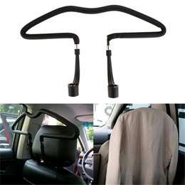 Wholesale Hangers For Clothes - Stainless Steel Car Stowing Multifunctional Scalable Hangers Clothes Rack Auto Supplies Car Accessories For vw mazda CDE_000