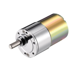 Wholesale Electric Micro Geared Motor - uxcell DC 12V 400RPM Micro Gear Box Motor Speed Reduction Electric Gearbox Eccentric Output Shaft