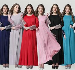 Wholesale Islamic Clothing Women Wholesale - muslim dress women dresses islamic clothes islamic clothing sequins long dress women muslim clothes D142