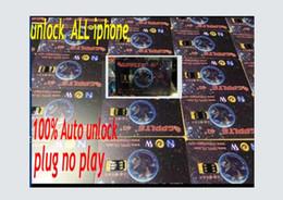Wholesale Sim Unlocking Device - 2HOUR HOT PROMOTION!!LOWEST GPPLTE 4G+ newest black smart chip 100% auto Neter Air Unlock Sim iPhone 7 6S 6 5S 5 Plus + LTE iOS10 R SIM11