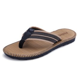 Wholesale Indoor Material - 2017new summer Couple men women Flip flops Sandy beach Shower Room Non-slip Slipper Rattan grass material Adhesive shoes Flat heel Straw
