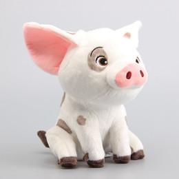 "Wholesale Pets Stuffed Animals - Movie Cartoon 8"" 20cm Moana Pet Pig Plush Toy Animals Stuffed Doll Give Children Holiday Gifts"
