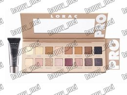 Wholesale pro colors - Free Shipping ePacket New Makeup Lorac Pro 3 Eye Shadow Palette 16 Colors Eyeshadow & Primer!