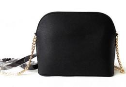Wholesale Leather Messenger Bag Pattern - Free shipping 2017 new women handbag cross pattern synthetic leather shell bag chain Bag Shoulder Messenger Bag Small fashionista