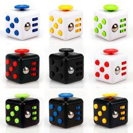 Wholesale Fun Kids - Mini Fidget Cube Toy Vinyl Desk Finger Toys Squeeze Fun Stress Reliever 3.3cm High Quality Antistress Cubo