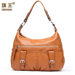 Wholesale Gold Prices Year - Wholesale- 2016 Soft Large Genuine Leather Handbags for Women New Year Gifts for She Casual HOBO Purse Office Lady Bags on Sales Good Price