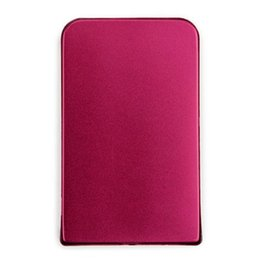 "Wholesale External Slim Enclosure - Wholesale- new External Hard Drive Disk Enclosure 2.5"" Usb 2.0 Ultra Slim Sata Hdd Portable Case Red"