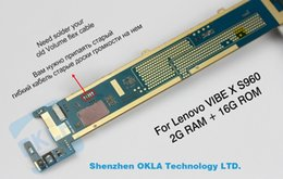 Wholesale Ram Board - Wholesale-1pcs used work well For lenovo S960 VIBE X 2G RAM 16G ROM original motherboard mainboard board card without flex cable