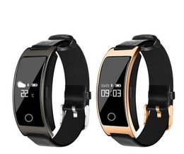 Wholesale bluetooth fashion bracelet - Fashion CK11S Touch Bluetooth Smart Watch Bracelet Band Blood Pressure Heart Rate Monitor Pedometer Fitness Smartwatch For IOS Android Phone