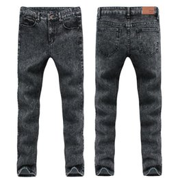 Wholesale Stretch Pants Wholesale Sales - Wholesale-china Cheap wholesale 2016 new hot sale College Wind student hot sale Men Denim fashion casual Slim stretch jeans