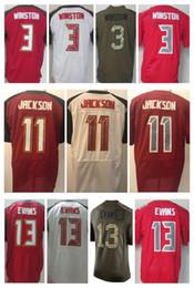 Wholesale Bay 13 - Men's Tampa Bay jersey 13 Mike Evans 11 DeSean Jackson 3 Jameis Winston 22 Doug Martin Elite American Football Jerseys