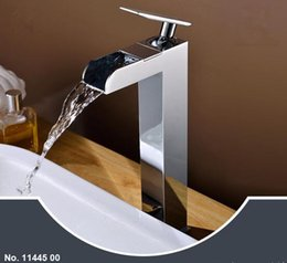 Wholesale Tube Fall Double - Falls faucet basin faucet bathroom sink supporting the use of hot and cold double-tube control High style