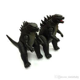 Godzilla Collection Action Figure Collect Toy 23 * 18cm PVC Monsters Dinosaur 2 Pz / set Movie Toys Spedizione gratuita da spazzole di pulizia dei tipi fornitori