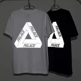 Wholesale Rock Cotton - 12 colors 2016 Fashion Black white Palace T shirt Men women rock clothing cotton Palace Skateboards Tee shirts Summer Style Palace T-shirt