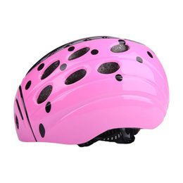 Wholesale bicycles for children - Wholesale- Ultralight EPS Skiing Cycling Skating Helmet Children Beetle Adjustable Racing Road Bicycle Visor For Kids Child safe